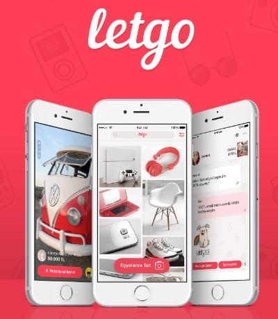 Letgo E-Ticaret Sitesi