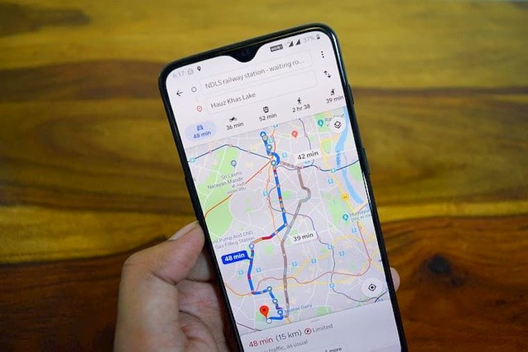 Google Haritalar Mesafe Ölçme