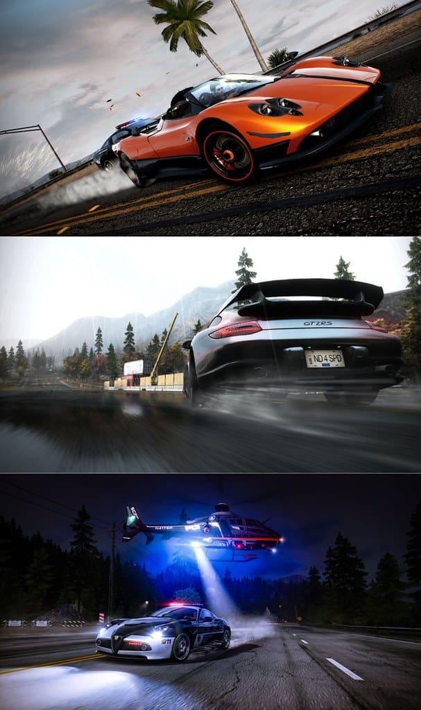 Need for Speed Hot Pursuit Oyun İçi Görüntüleri