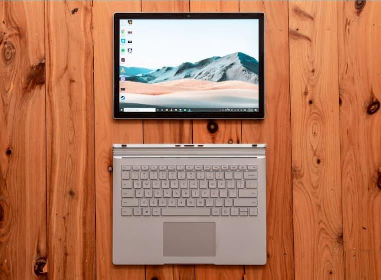 Surface Book Hayat Kurtardı