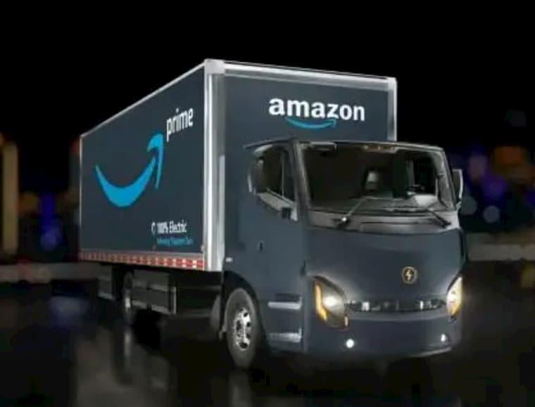 Amazon Elektrikli Aracını Tanıttı