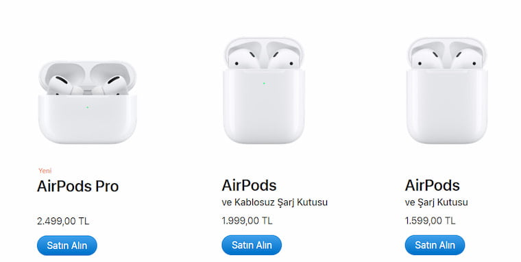 Airpods Fiyat