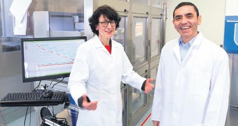 Korona Virüs Aşısı Bulan Firmalar Arasında Türk Çiftinin de Firması Yer Alıyor