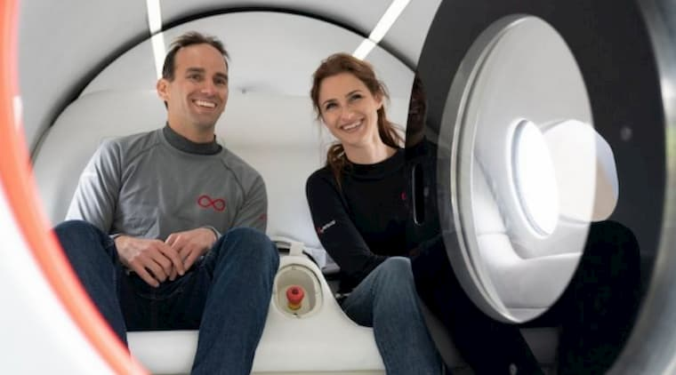 Hyperloop İnsanlı Test