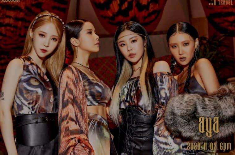 En iyi K-Pop Grupları Üçüncüsü Mamamoo