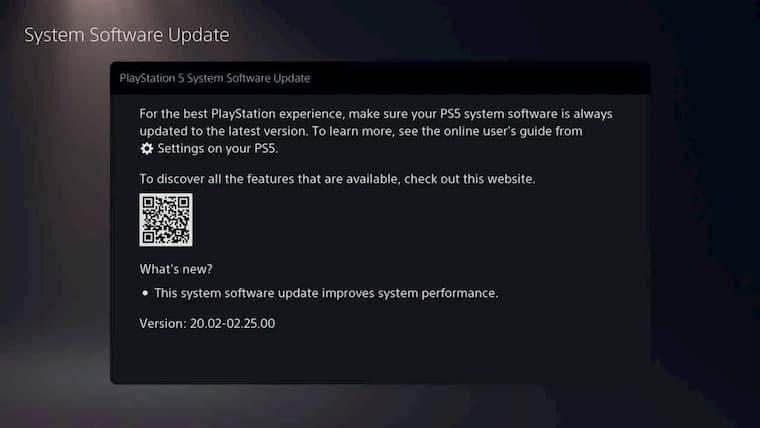 PlayStation 5 Yazılım Güncellemesi Yayınlandı