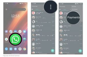 WhatsApp'tan Para Gönderip Almayı Aktif Etme Adım 1