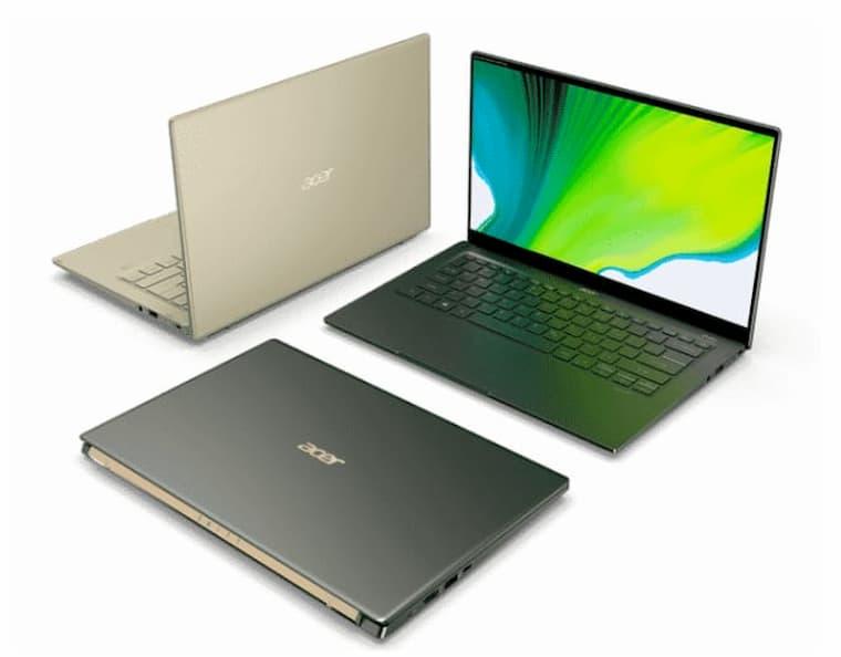 Acer Swift 5'in görünümü