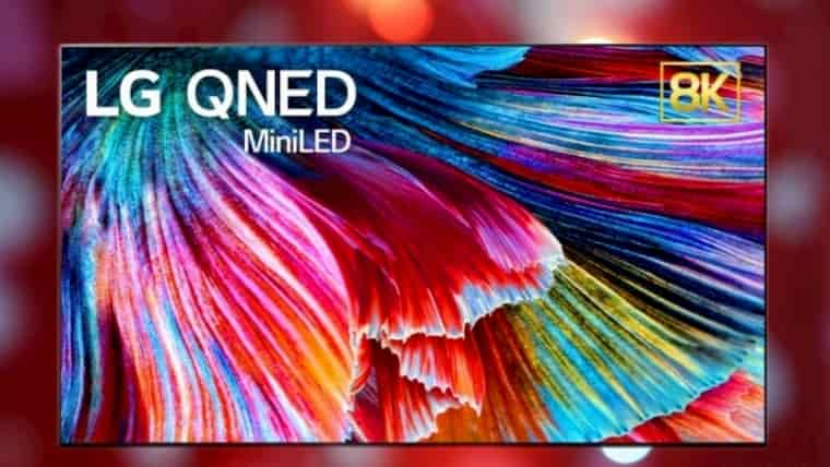 LG 8K QNED TV