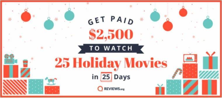 25 Günde 25 Film İzleyene 20.000 TL Ödül Verilecek