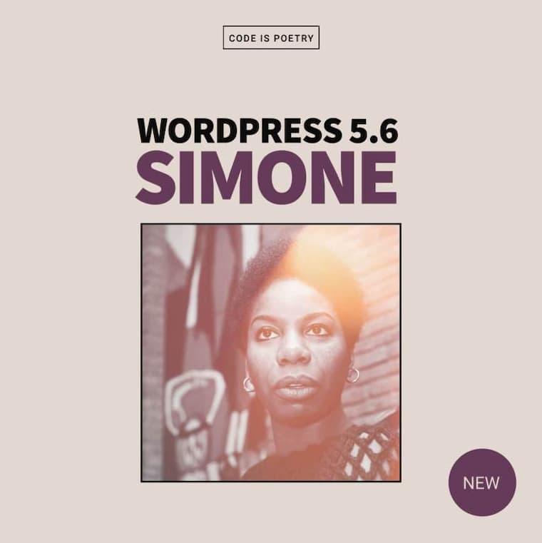 WordPress Simone Güncellemesinde İlham Alınan Sanatçı