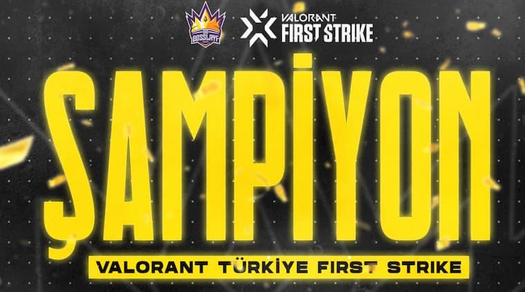 Valorant First Strike Şampiyonu Belli Oldu