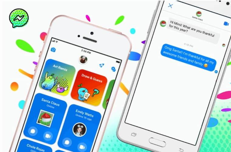 Messenger Kids ile Çocuklar Noel Babaya Mesaj Atıyor