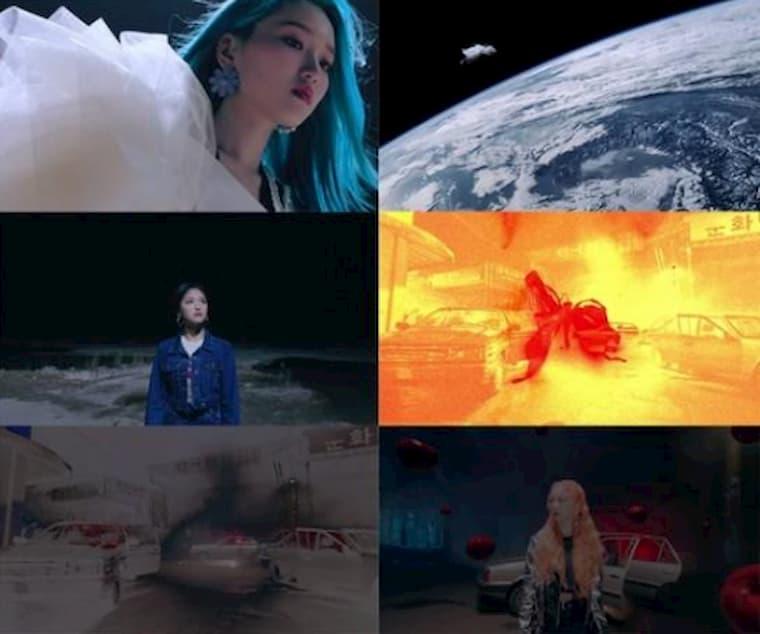 LOONA New Moon Teaser'dan Görüntüler