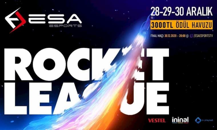 EsaEsports Rocket League Turnuvası Kayıtları Açıldı