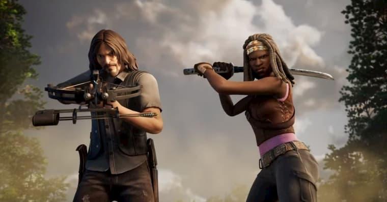 Fortnite The Walking Dead İşbirliği  Fortnite'ın Twitter Hesabı Tarafından Kesinleşti