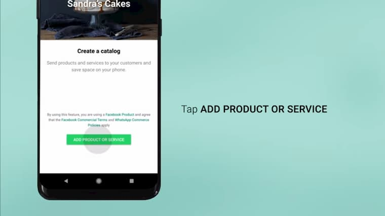 WhatsApp Business'da Katalog Hazırlama Adım 2