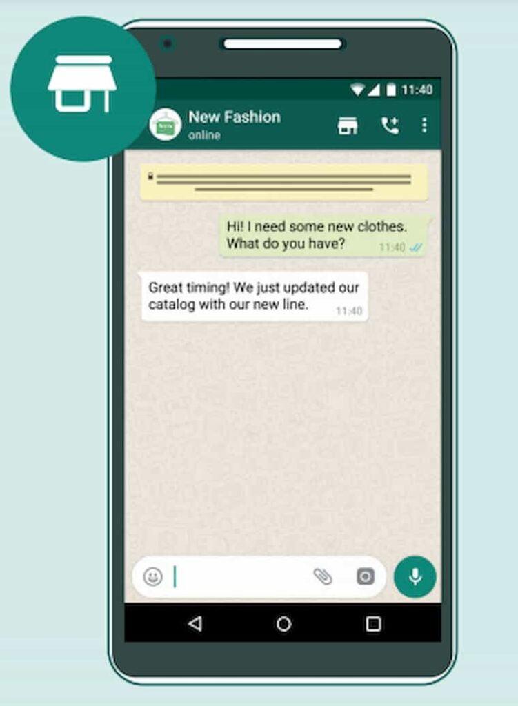 WhatsApp Alışveriş Sepeti Özelliği