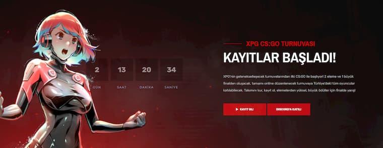 XPG CS:GO Turnuvasının Kayıtları Açıldı