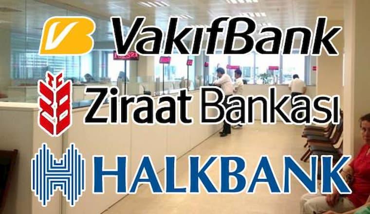 Kamu Bankalarının ATM'leri Birleşiyor