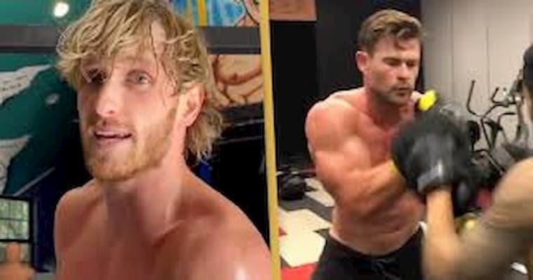 Logan Paul Chris Hemsworth ile Boks Maçı Yapmak İstiyor