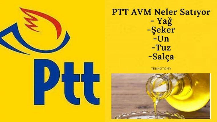 PTT AVM Neler Satıyor