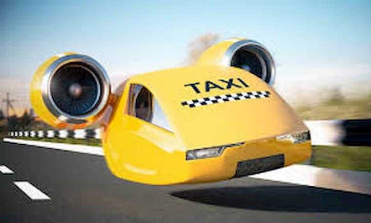 Uçan Taksiler Çin'de Görüntülendi