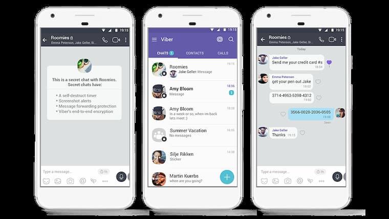 WhatsApp'a Alternatif En iyi 5 Uygulama Listesinde Üçüncü Sırasında Viber