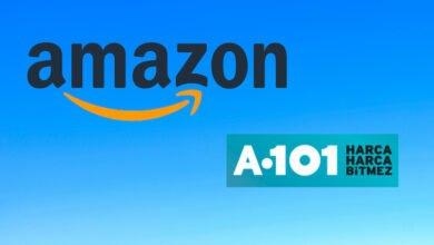 Amazon A101 ile Çalışıyor