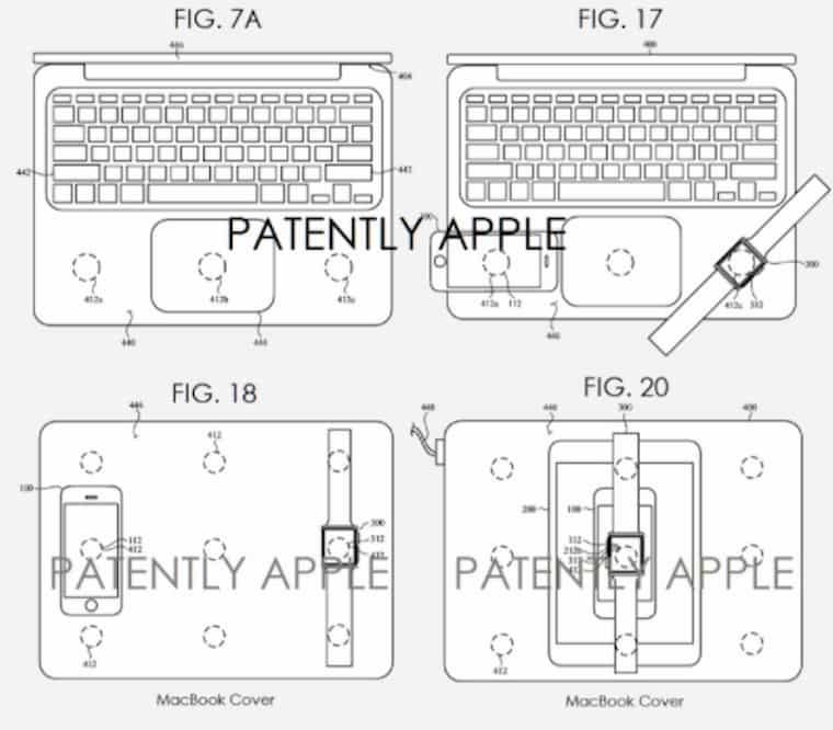 Apple Kablosuz Şarj Patent Detayları