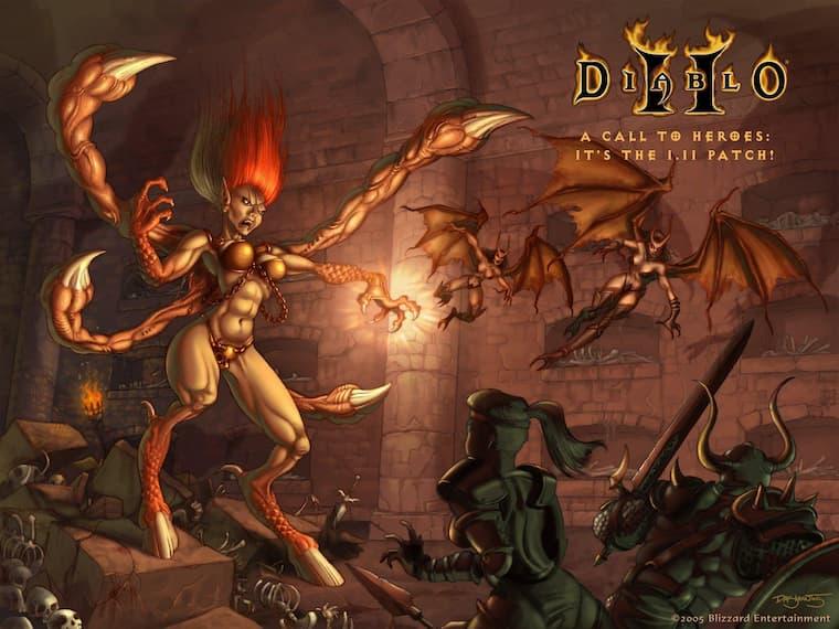Blizzard Firmasının Yaptığı RPG Oyunu Olan ve Oldukça Fazla Sevilen Diablo 2 Yeniden Yapılıyor
