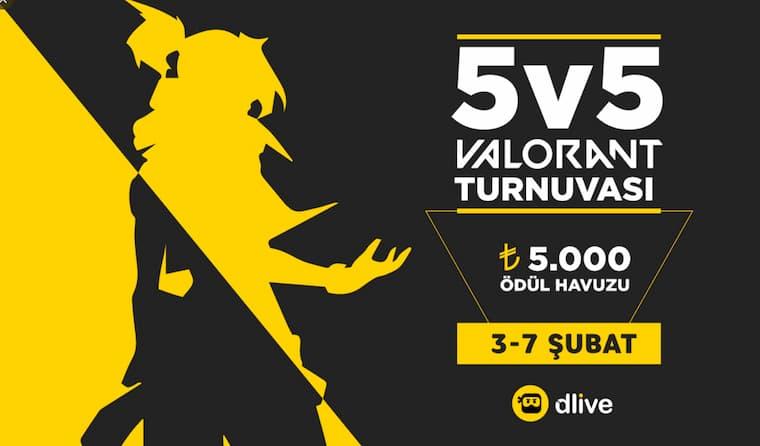 Dlive Valorant Turnuvası İle İlgili Dlive'ın Twitter Hesabından Paylaşılan Fotoğraf