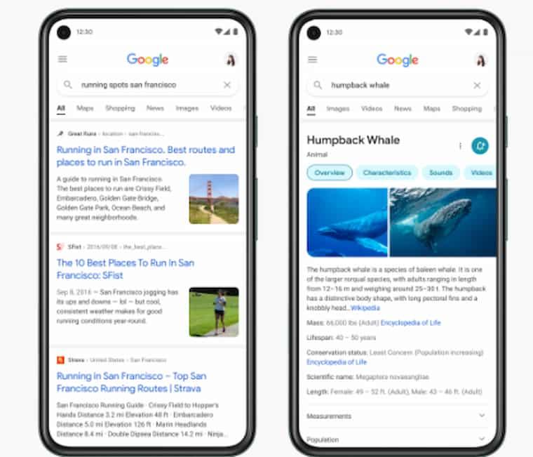 Google Arama Yazı Tipi Değişikliği
