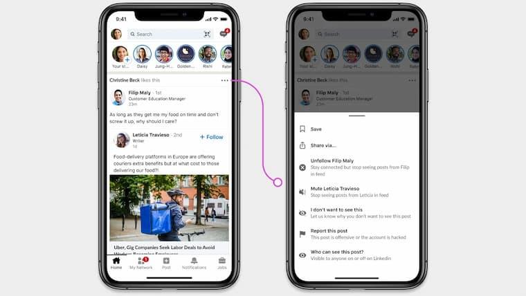 Linkedln Yeni Gelen Özellik İle Kullanıcılar Kimin Yorum Yapıp Cevaplayabileceğini Seçebilecek