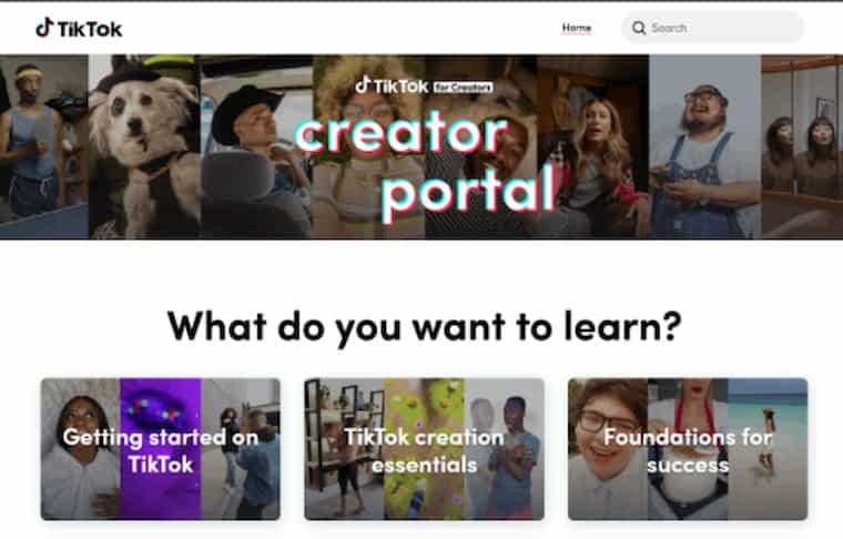 TikTok Creator Portal Kullanıma Sunuldu