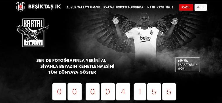Kartal Pençesi Beşiktaş'ı Bırakma