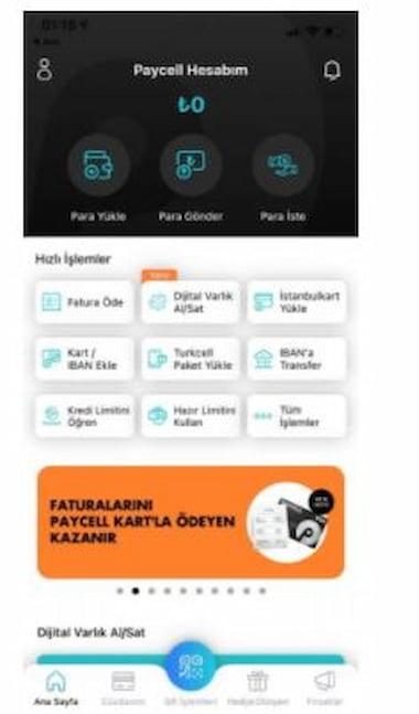 Paycell'de Kripto Para Alım Satımı Yapabiliyorsunuz