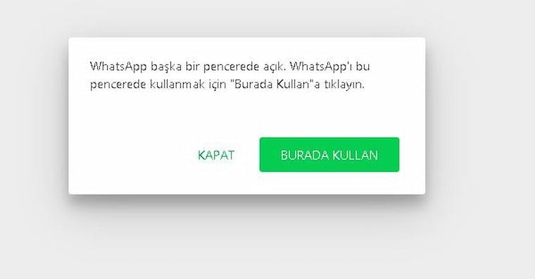 WhatsApp Web Rehberi: WhatsApp Web Dezavantajlar