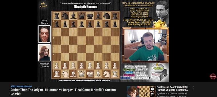 yapay zeka satranç kanalını engelledi