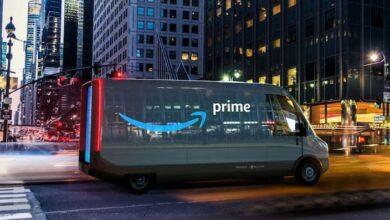 Amazon Elektrikli Teslimat Aracı