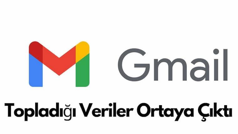 Gmail'in Topladığı Verilerde Ortaya Çıktı