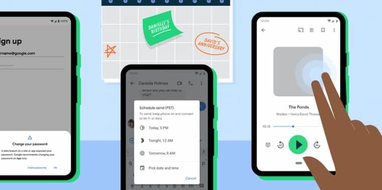 Android için Yeni Özellikler