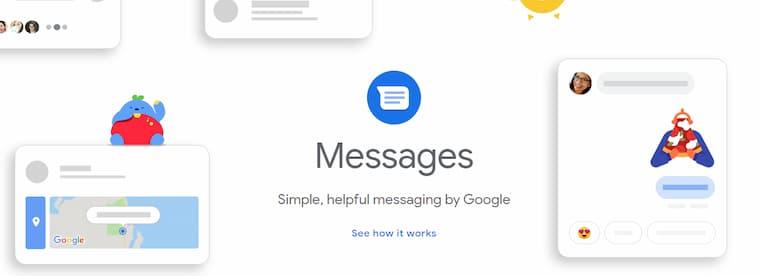 Akıllı Telefonlarda Google Mesajlar