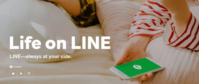 Line Mesajlaşma Uygulaması