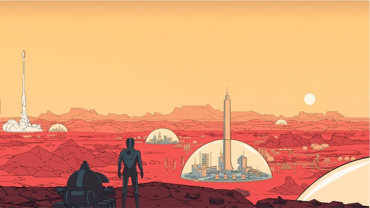 Epic Games'in Bu Haftaki Ücretsiz Oyunu 50 Tl Değerinde Ki  Surviving Mars Oldu