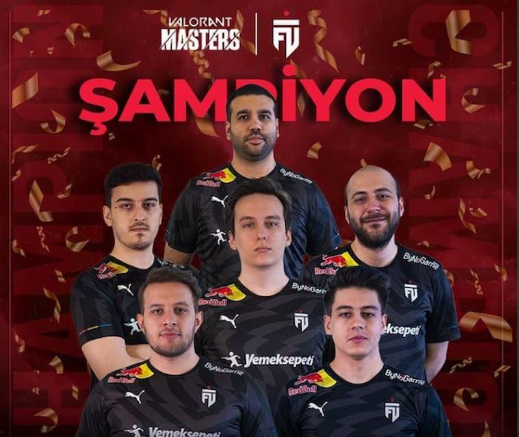 VCT 1. Aşama Masters Türkiye Bölgesi Şampiyonu Futbolist Oldu