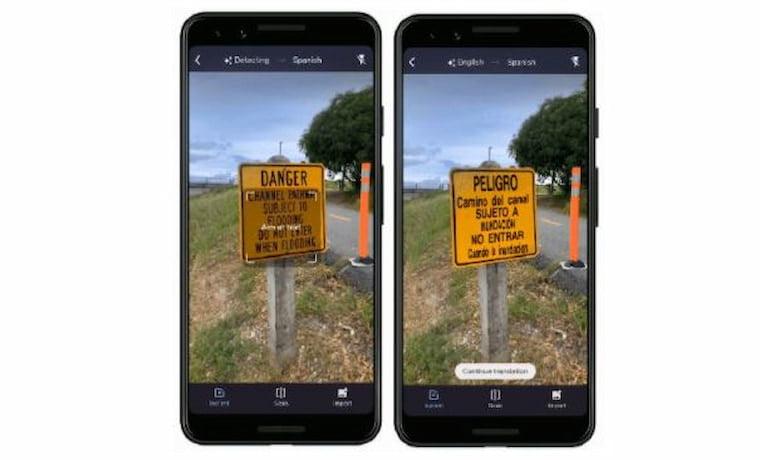 Google Çeviri Kamera ile Çeviri Yapmanızı Sağlıyor