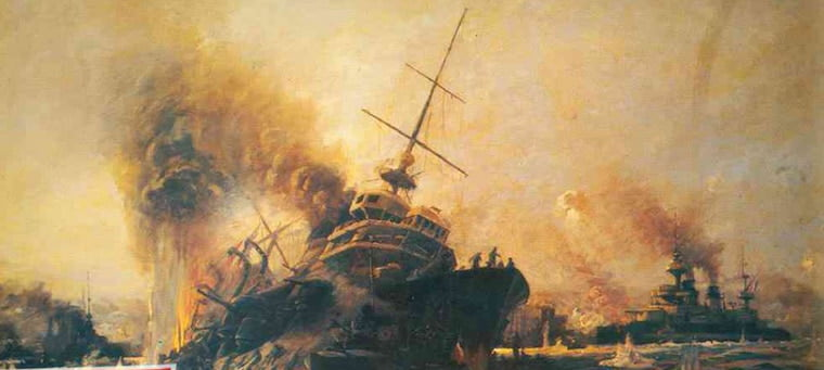 Ruhi Çenet Çanakkale Savaşı'nda Batan Gemileri Takipçilerine Gösterdi
