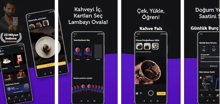 Ücretsiz En İyi 7 Kahve Falı Uygulamalarının İkinci Sırasında Faladdin Uygulaması Yer Alıyor