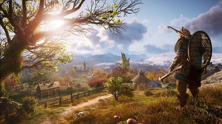 Assassin's Creed Valhalla Güncellemesi Yayına Girdi